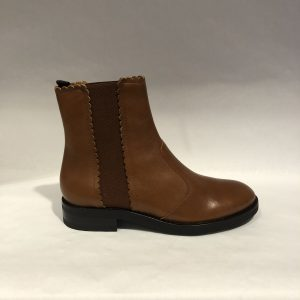 Bottines See by Chloé CAMEL SEE BY CHLOÉ SHOES