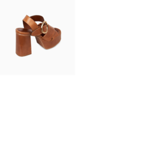 SANDALE HAUTE BROWN SEE BY CHLOÉ SHOES
